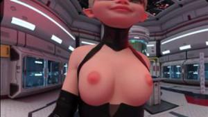 Horned Walking Front 2 - Topless Sexy Elf VR Fapsphere CGIGirl VR porn video vrporn.com