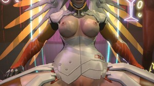 Overwatch Sex & Dance - Mercy FantasySFM CGIgirl vr porn video vrporn.com virtual reality