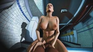 Cassie Rides You In The Locker Room DarkDreams cgi girl vr porn video vrporn.com virtual reality