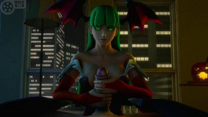 Morrigan Is Laughing WITH You darkdream cgi vr porn video vrporn.com virtual reality