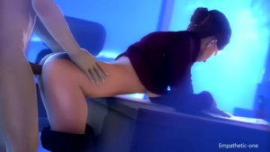 Diana's Overtime Schedule CGI Girl DarkDreams vr porn video vrporn.com virtual reality
