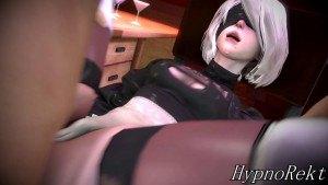 2B's Up For Anything DarkDreams cgi girl vr porn video vrporn.com virtual reality