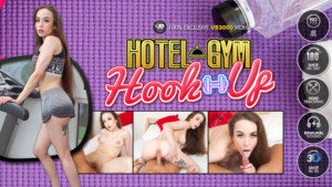 Hotel Gym Hook Up vr3000 Angel-Rush vr porn video vrporn.com virtual reality