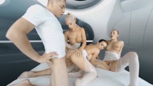 2017-Space-Orgasm POV RealityLovers Blanche Bradburry Vanessa Decker Patty Michova vr porn video vrporn.com virtual reality