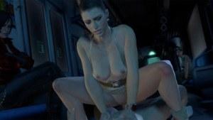 Resident Evil – Excella's Train Ride DarkDreams cgi girl vr porn video vrporn.com virtual reality