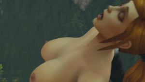 World of Warcraft – Night Elf Priestess Blowjob itsMorti cgi girl vr porn video vrporn.com virtual reality