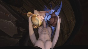 World of Warcraft - What's Better Than A Blowjob darkdream cgi girl vrporn video vrporn.com virtual reality