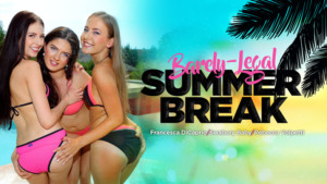 Barely-Legal Summer Break RealityLovers Francesca DiCaprio Rebecca Volpetti Swabery Baby vr porn video vrporn.com virtual reality