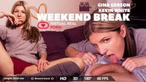 Weekend Break VirtualRealPorn Gina Gerson vr porn video vrporn.com virtual reality