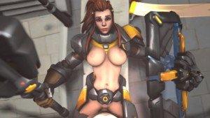 Overwatch - Brigitte Loves A Good Workout DarkDreams vr porn video vrporn.com virtual reality