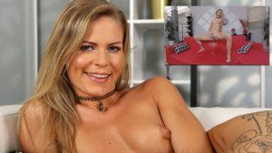 Claudia Tastes Her Pee VirutalPee Claudia Macc vr porn video vrporn.com virtual reality