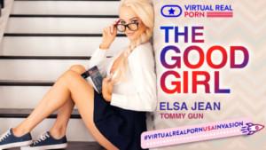 The Good Girl VirtualRealPorn Elsa Jean vr porn video vrporn.com virtual reality