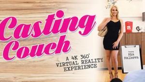 Casting Couch - Mia Malkova Blonde Big Tits VRBangers vr porn video vrporn.com virtual reality