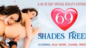 69 Shades Freed VR Bangers Alex More Chanel Preston vr porn video vrporn.com virtual reality
