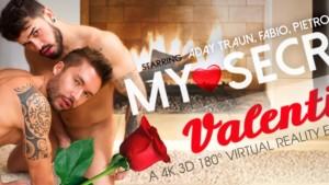 [Gay] My Secret Valentine VRBGay Pietro Duarte Aday Traun Fabio vr porn video vrporn.com virtual reality