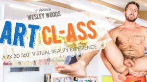 [Gay] Art CL-ASS VRBGay Wesley Woods vr porn video vrporn.com virtual reality
