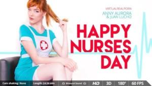 Happy Nurses Day - Beautiful Stockings Nurse Costume VR Porn VirtualRealPorn Juan Lucho Anny Aurora VR porn video vrporn.com