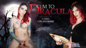 Cum To Dracula VRBTrans Chelsea Marie vr porn video vrporn.com virtual reality