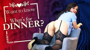 Want To Know What's For Dinner VRConk Miss K vr porn video vrporn.com virtual reality