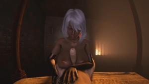 Fallen Throne - Nualia's Special Treatment DarkDreams vr porn video vrporn.com virtual reality