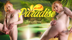 Wet Paradise VRBTrans Shiri Allwood vr porn video vrporn.com virtual reality