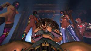 Mortal Kombat - Sheeva Lends a Hand DarkDreams vr porn video vrporn.com virtual reality