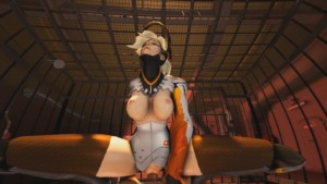 Mercy's Cage Match DarkDreams vr porn video vrporn.com virtual reality