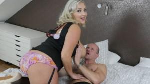 I Love Your Big Juggs starring Crystal Swift StockingsVR Krystal Swift vr porn video vrporn.com virtual reality