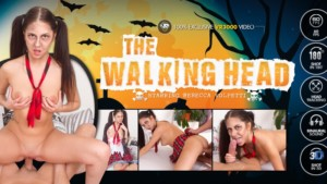 The Walking Head Starring Rebecca Volpetti VR3000 Rebecca Volpetti vr porn video vrporn.com virtual reality