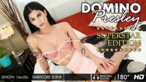Superstar Edition GroobyVR Domino Presley vr porn video vrporn.com virtual reality