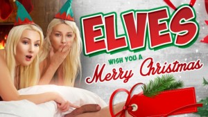 Elves Wish You A Merry Christmas VRConk Karol Lilien Lovita Fate vr porn video vrporn.com virtual reality