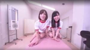 Tow Bad Girls Play With Their Teacher JVRPorn Hatano Shizuku Hirose Umi vr porn video vrporn.com virtual reality
