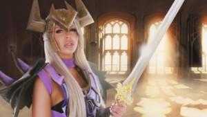 The King's Guard WhorecraftVR Nina Elle vr porn video vrporn.com virtual reality