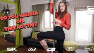 Oiled Tits RealJamVR Stacy Cruz vr porn video vrporn.com virtual reality