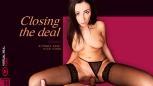 Closing The Deal VirtualRealPorn Alyssia Kent vr porn video vrporn.com virtual reality