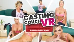 Casting Couch VR VRPFilms Aubrey Black vr porn video vrporn.com virtual reality
