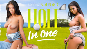 Hole In One VR Bangers Nia Nacci vr porn video vrporn.com virtual reality