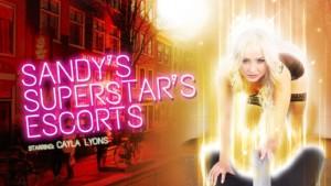 Sandy's Superstar's Escorts VRPFilms Cayla Lyons vr porn video vrporn.com virtual reality