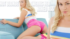 Hot Blonde Twerks Her Naked Ass TmwVRnet Selvagia vr porn video vrporn.com virtual reality
