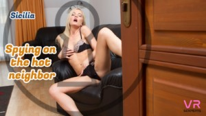 Spying On Hot Neighbor VRSexperts Sicilia vr porn video vrporn.com virtual reality