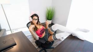 Your Favorite Streamer! VRAllure Alexis Zara vr porn video vrporn.com virtual reality