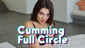 Cumming Full Circle - A 360 Experience BaDoinkVR August Ames Valentina Nappi Jaclyn Taylor vr porn video vrporn.com virtual reality