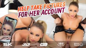 Posing Hottie Emma Hix RealJamVR Emma Hix vr porn video vrporn.com virtual reality