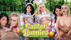 Easter Bunnies WANKZVR Bailey Brooke Gina Valentina vr porn video vrporn.com virtual reality